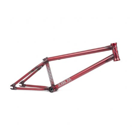 Subrosa MR1 Frame - Satin Trans Red 20.5""